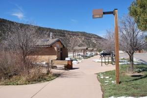 Ridgway State Park Public Rest Area